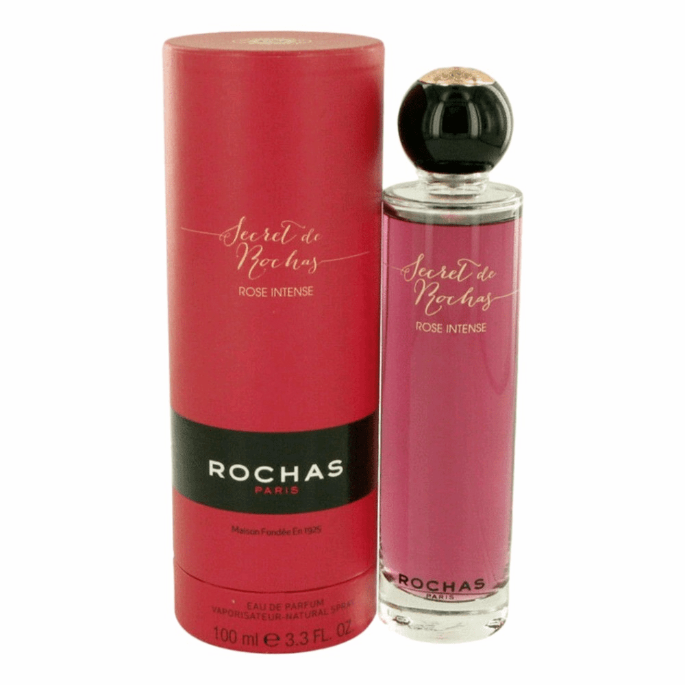 Secret De Rochas Rose Intense by Rochas, 3.4 oz  Eau De Parfum Spray for Women