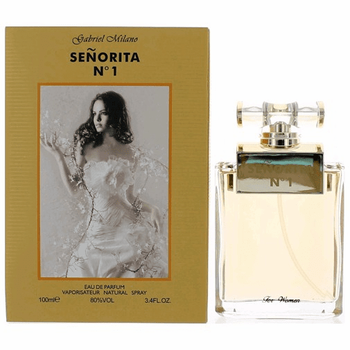Senorita No 1 by Gabriel Milano, 3.4 oz Eau De Parfum Spray for Women
