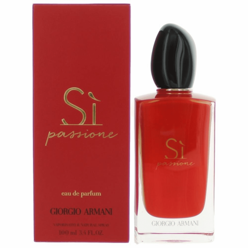Si Passione by Giorgio Armani, 3.4 oz Eau De Parfum Spray for Women