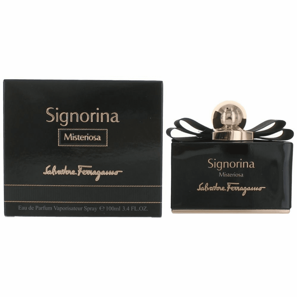 Signorina Misteriosa by Salvatore Ferragamo, 3.4 oz Eau De Parfum Spray for Women