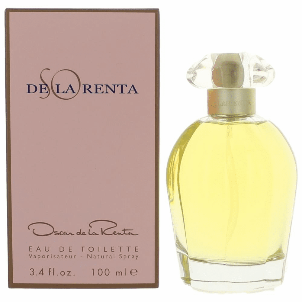 So De La Renta by Oscar De La Renta, 3.3 oz Eau De Toilette Spray for Women