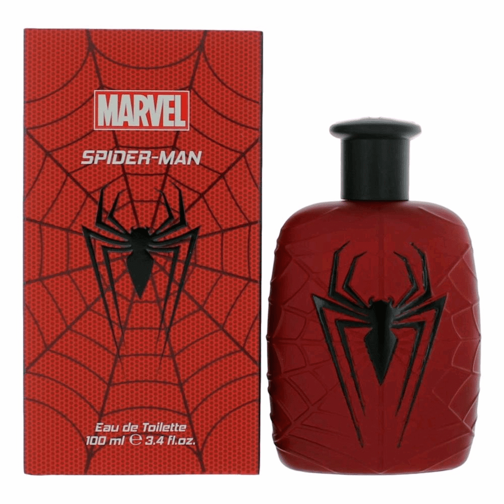 Spider-Man by Marvel, 3.4 oz Eau De Toilette Spray for Men