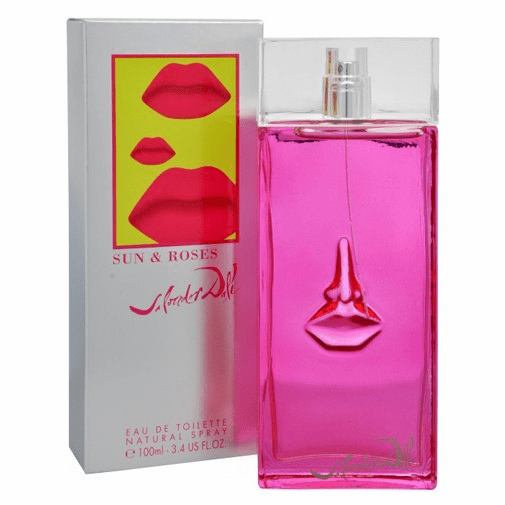 Sun & Roses by Salvador Dali, 3.4 oz Eau De Toilette Spray for Women