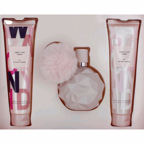 Sweet Like Candy by Ariana Grande, 3 Piece Gift Set for Women