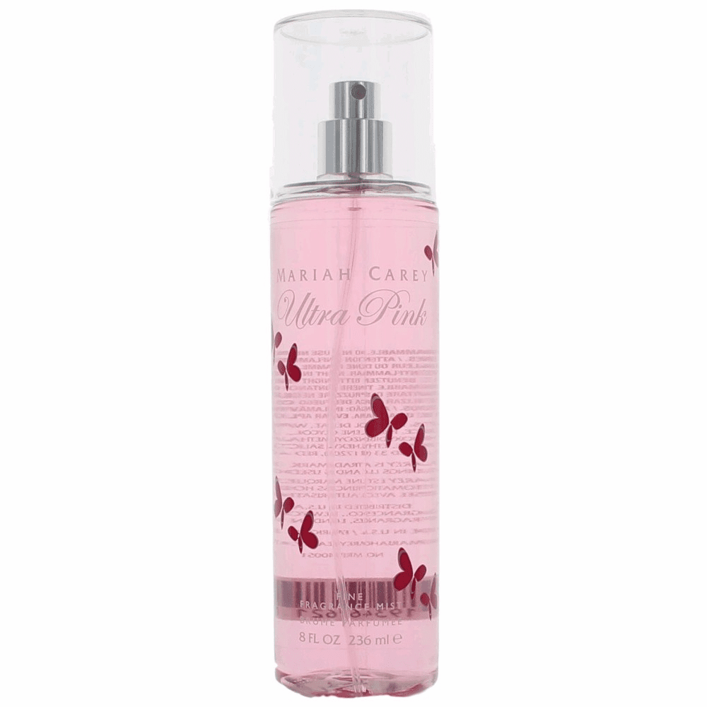 Ultra Pink by Mariah Carey, 8 oz Fine Fragrance Mist for Women
