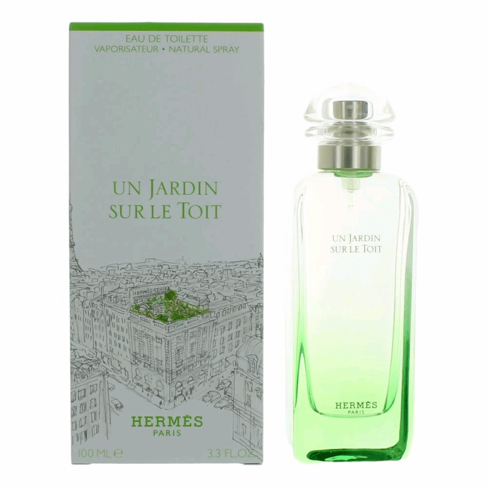 Un Jardin Sur Le Toit by Hermes, 3.3 oz Eau De Toilette Spray for Women