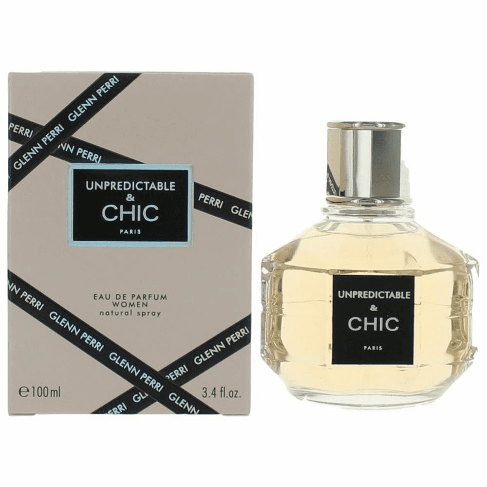 Unpredictable & Chic by Glenn Perri, 3.4 oz Eau De Toilette Spray for Women