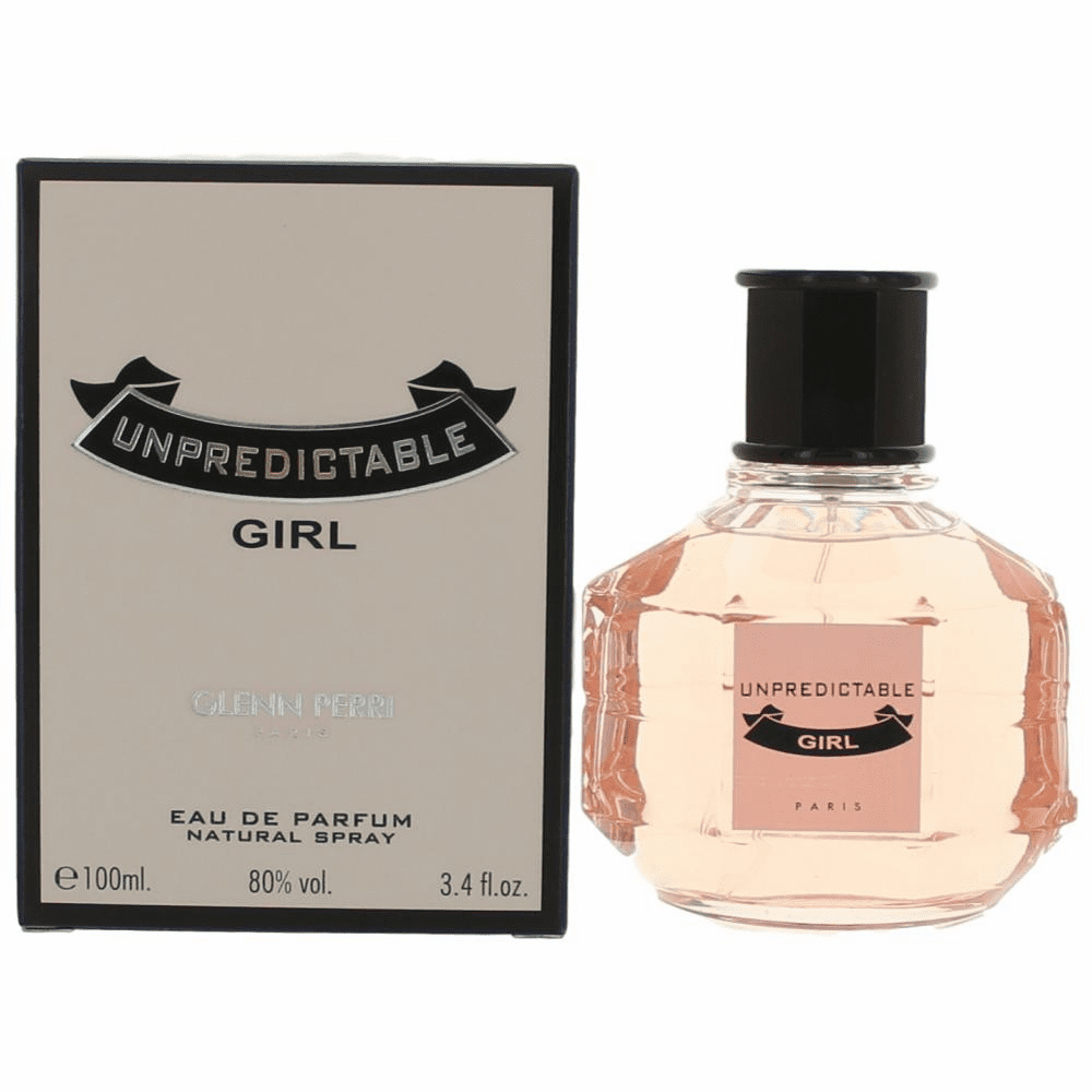 Unpredictable Girl by Glenn Perri, 3.4 oz Eau De Parfum Spray for Women