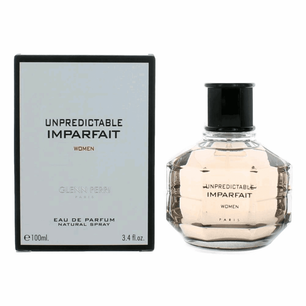 Unpredictable Imparfait by Glenn Perri, 3.4 oz Eau De Parfum Spray for Women