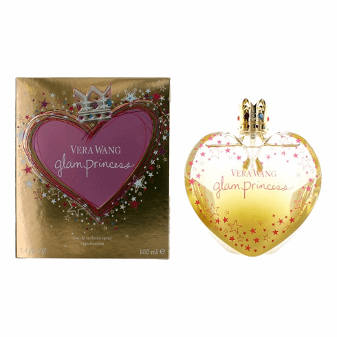 Vera Wang Glam Princess by Vera Wang, 3.4 oz Eau De Toilette Spray for Women