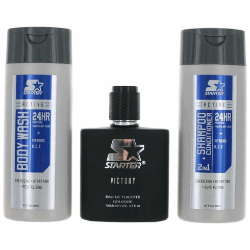 Victory by Starter, 3 Piece Gift Set for Men