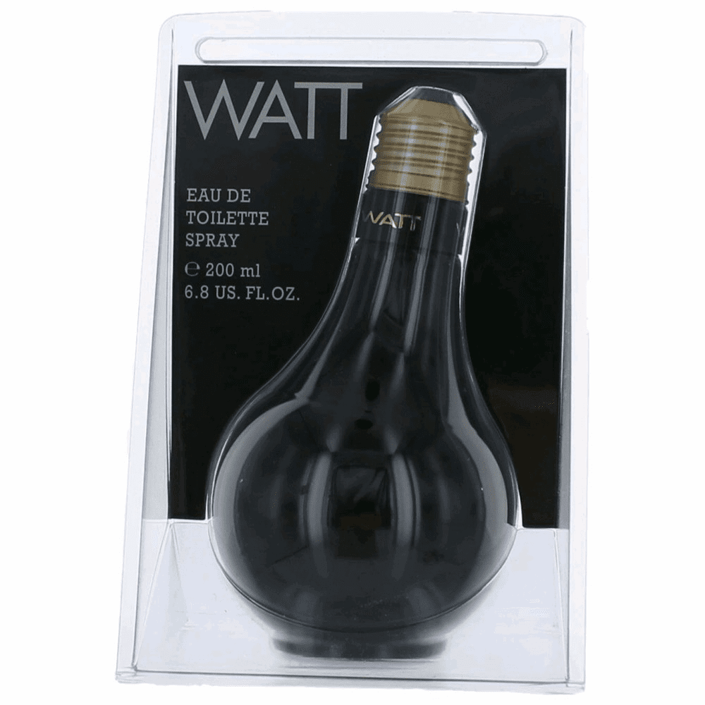 Watt Black by Cofinluxe, 6.8 oz Eau De Toilette Spray for Men