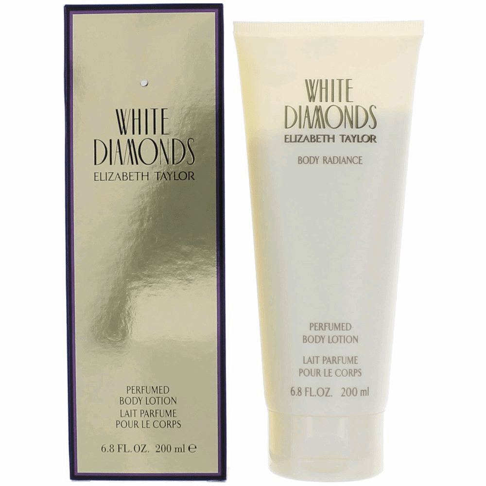 White Diamonds by Elizabeth Taylor, 6.8 oz Perfumed Body Lotion for Women