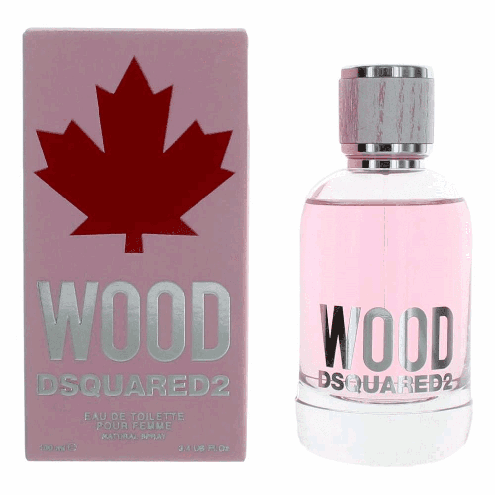 Wood Pour Femme by Dsquared2, 3.4 oz Eau De Toilette Spray for Women