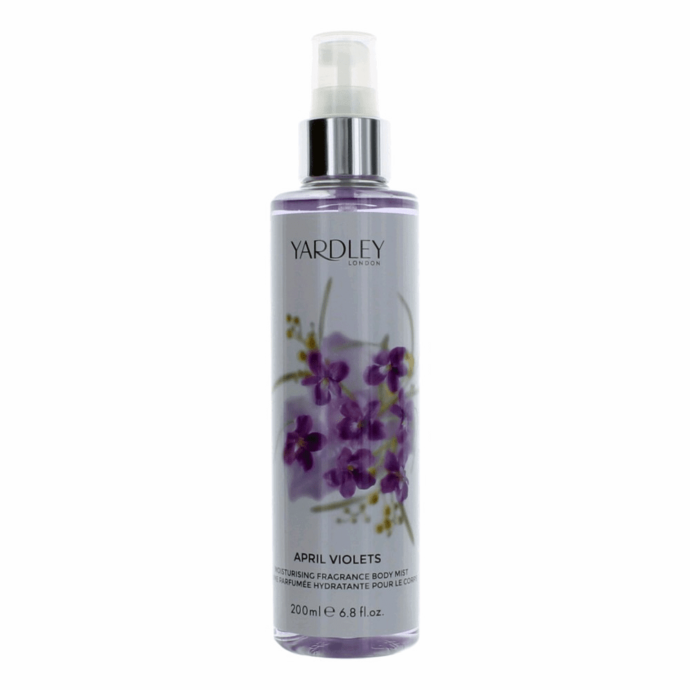 Yardley April Violets by Yardley Of London, 6.8 oz Fragrance Mist for Women