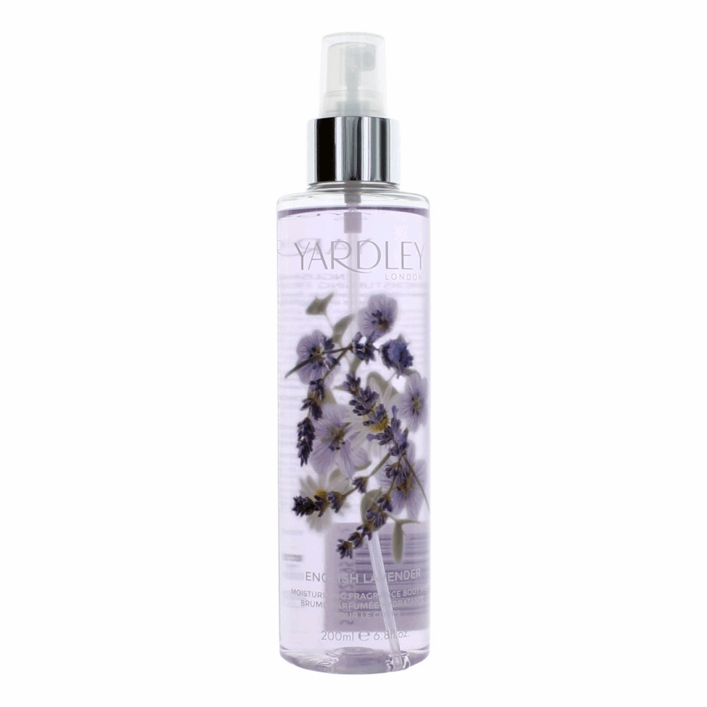 Yardley English Lavender by Yardley Of London, 6.8 oz Fragrance Mist for Women