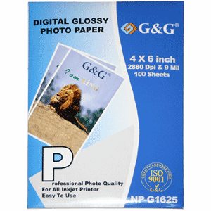 "100 sheets 4"" x 6"" inch Premium Glossy Photo Paper, Buy 3 Get 1 Free, Buy 5 Get 2 Free"