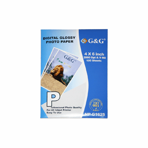 """100 sheets 4"""" x 6"""" inch Premium Glossy Photo Paper, Buy 3 Get 1 Free, Buy 5 Get 2 Free"""