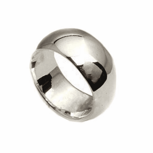9MM Wedding Band Sterling Silver Ring