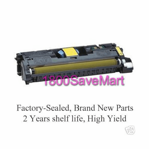 Brand New HP C9702A Premium Compatible Toner Cartridge, FREE SHIPPING