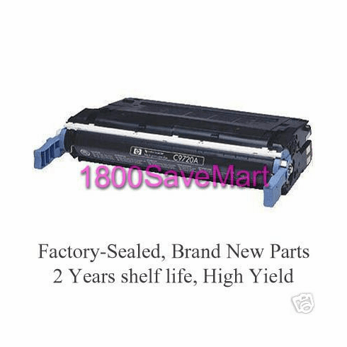 Brand New HP C9720A Premium Compatible Toner Cartridge, FREE SHIPPING