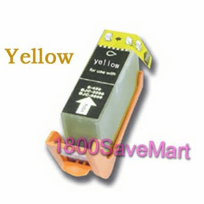 Brand New Premium Canon BCI-1001Y BCI-1001 Compatible Cartridge - Yellow