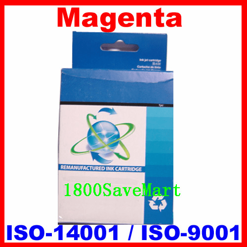 Brand New Premium Compatible Ink Cartridge HP C8772WN, C8772, HP #02-Magenta