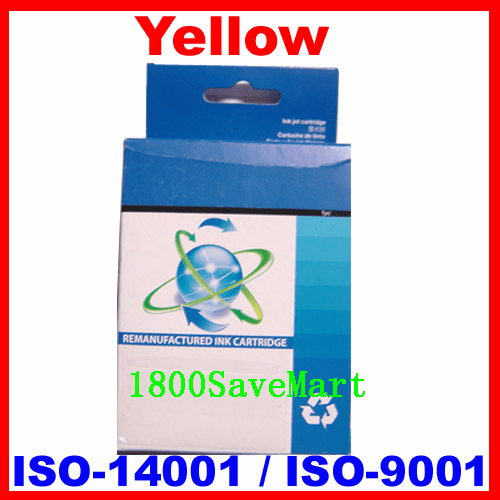 Brand New Premium Compatible Ink Cartridge HP C8773WN, C8773, HP #02-Yellow