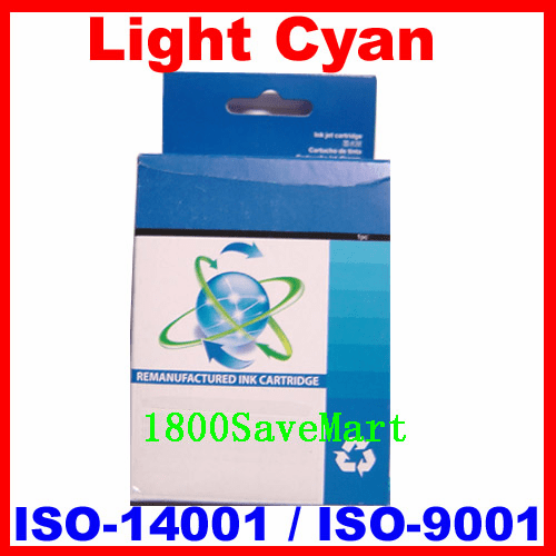Brand New Premium Compatible Ink Cartridge HP C8774WN, C8774, HP #02-Light Cyan