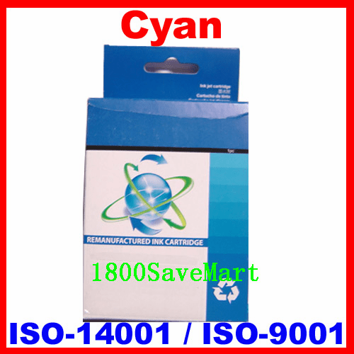 Brand New Premium Compatible Ink Cartridge HP C9386AN, C9391AN, C9386A, C9386-Cyan