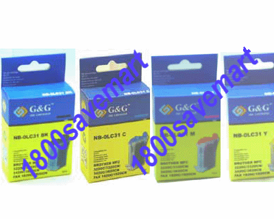Brother LC-21 LC21 Value Pack - Up to 8 Cartridges, Buy 3 Get 1 Free