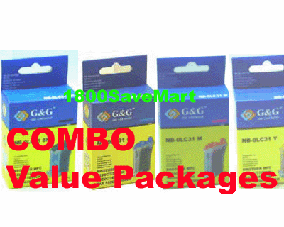 Brother LC-31 LC31 Value Pack - Up to 8 Cartridges, Buy 3 Get 1 Free