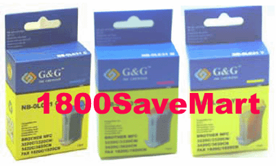 Brother LC-41 LC41 Value Pack - Up to 8 Cartridges, Buy 3 Get 1 Free