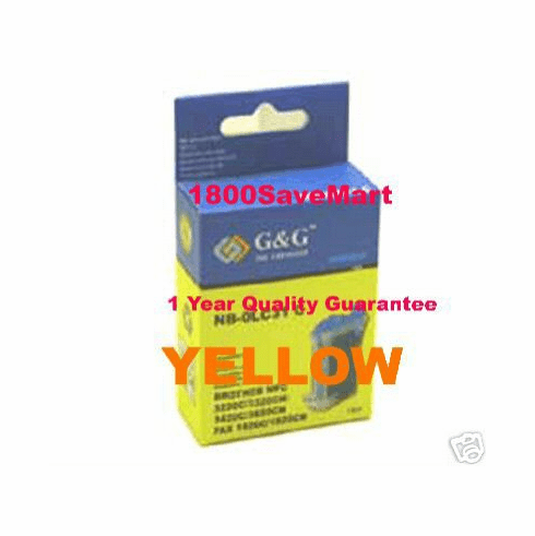Brother LC01Y Compatible Cartridge - YELLOW