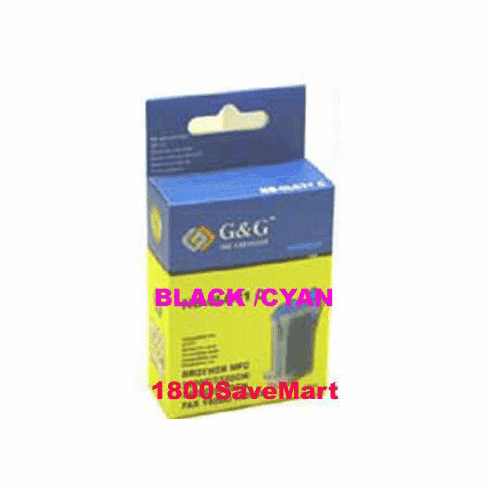 Brother LC03BC Compatible Cartridge - BLACK, CYAN