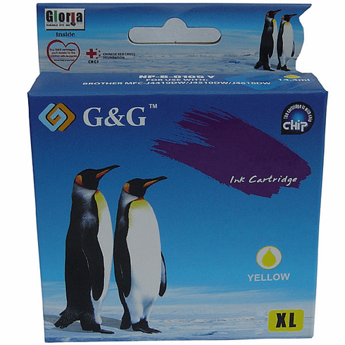 Brother LC101Y LC-101Y Compatible Cartridge - Yellow