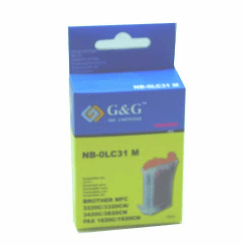 Brother LC31M Compatible Cartridge - MAGENTA