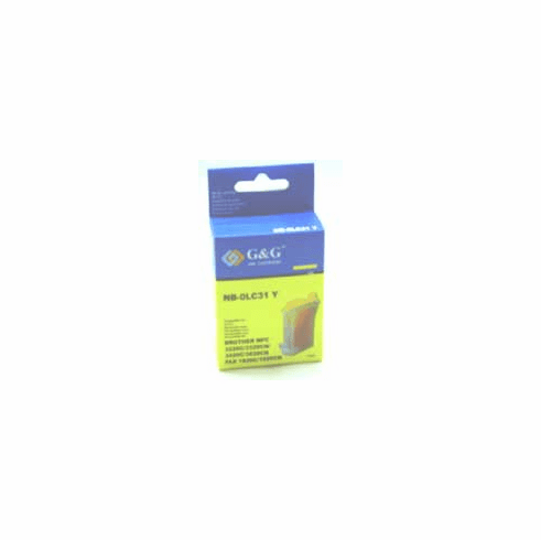 Brother LC31Y Compatible Cartridge - YELLOW