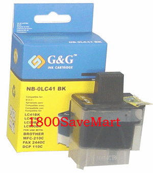 Brother LC41BK Compatible Cartridge - BLACK