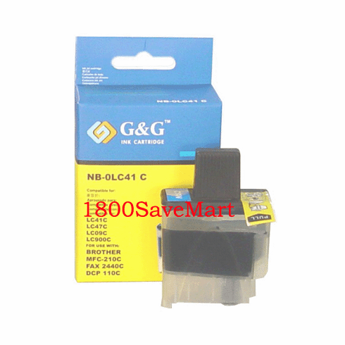 Brother LC41C Compatible Cartridge - CYAN