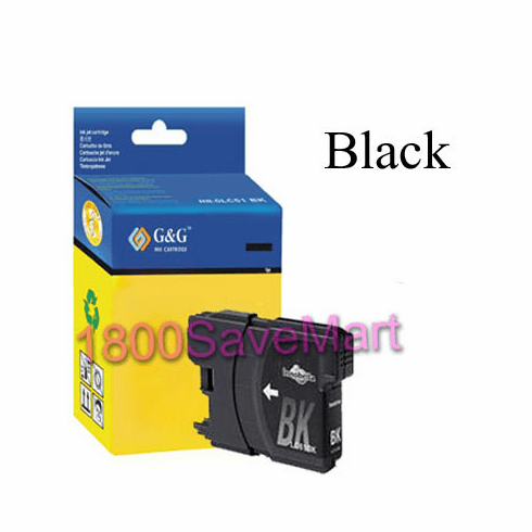 Brother LC61BK LC-61BK Compatible Cartridge - BLACK