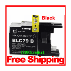 Brother LC79BK, LC-79 Compatible Cartridge - Black