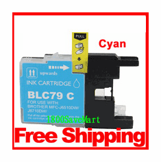 Brother LC79C, LC-79 Compatible Cartridge - Cyan
