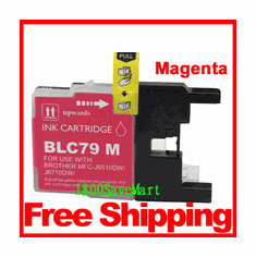 Brother LC79M, LC-79 Compatible Cartridge - Magenta