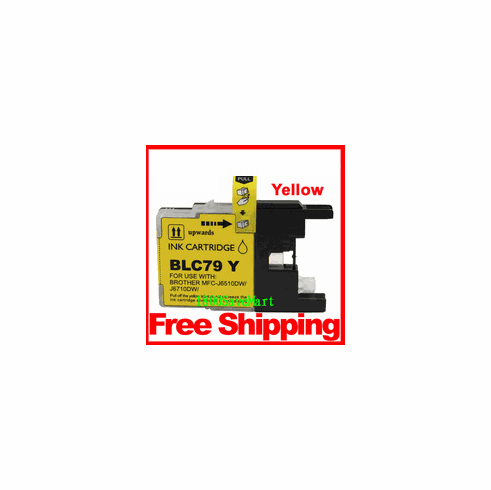 Brother LC79Y, LC-79 Compatible Cartridge - Yellow
