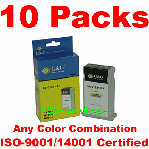 Canon BCI-1201, BCI-1201BK, BCI-1201C, BCI-1201M, BCI-1201Y Value Pack -10 Cartridges, any color selection