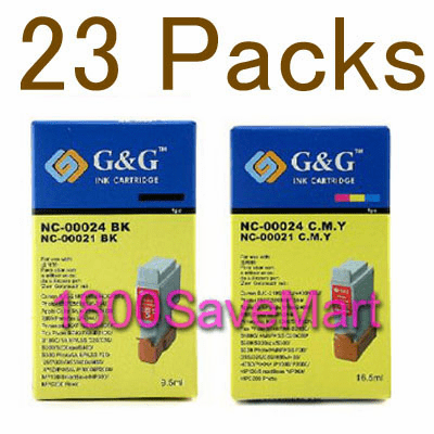 Canon BCI-24 Value Pack - Up to 23 Cartridges, Buy 3 Get 1 Free