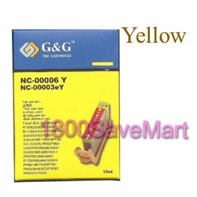Canon BCI-6Y / BCI-5Y Compatible Cartridge - YELLOW