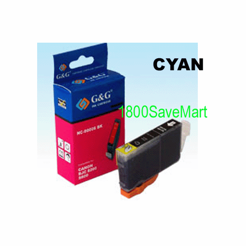 Canon BCI-8C Compatible Cartridge - CYAN, Buy 3 Get 1 Free, Buy 5 Get 2 Free