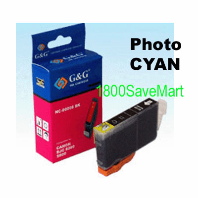 Canon BCI-8PC Compatible Cartridge - PHOTO CYAN, Buy 3 Get 1 Free, Buy 5 Get 2 Free